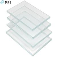 3 mm-19mm ultra clair Float transparent extra Constuction verre